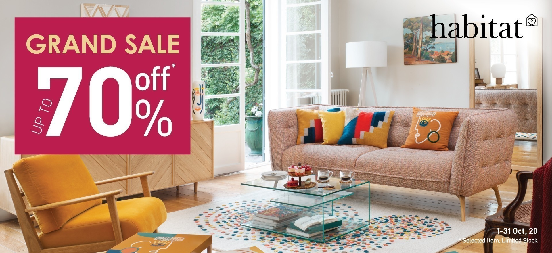 Habitat Grand Sale up to 70%off