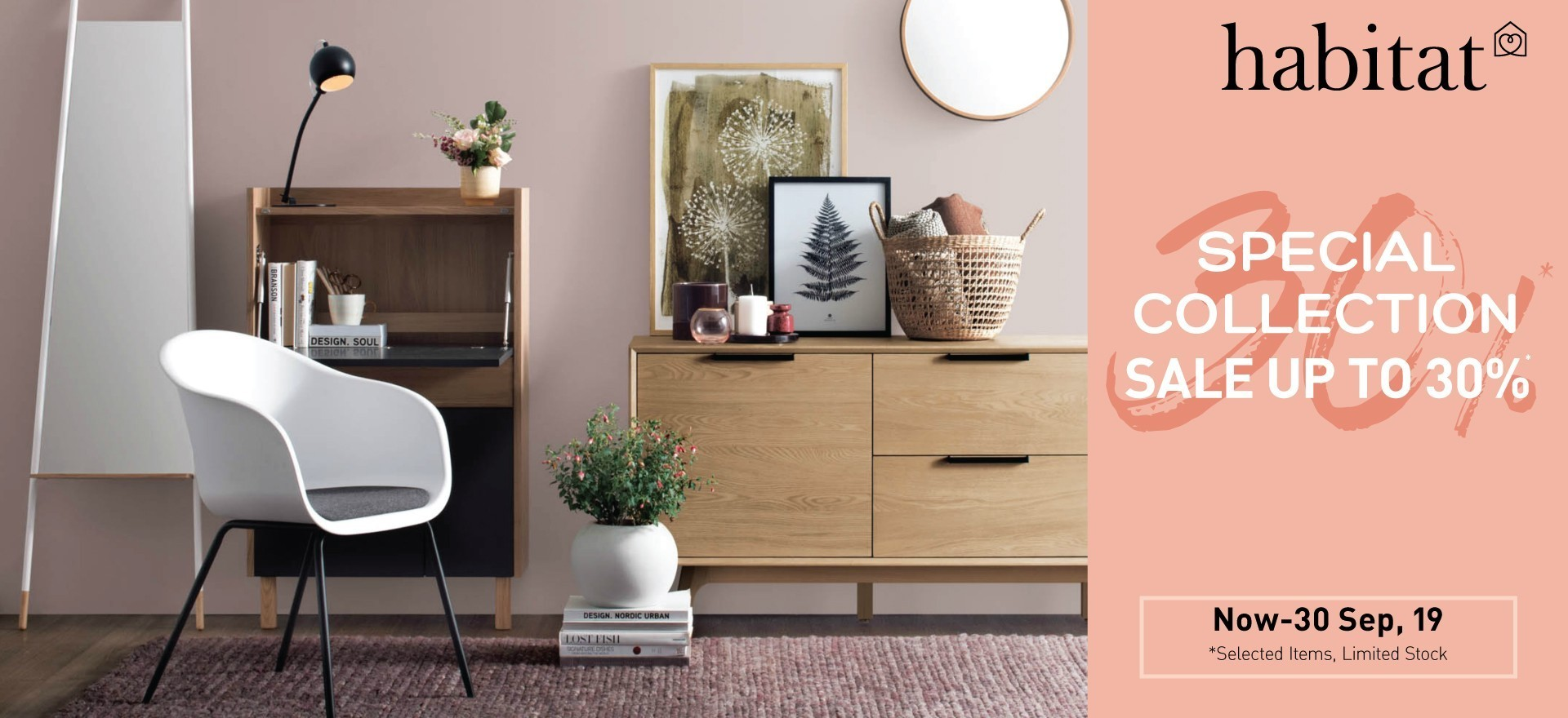 Habitat Special Collection sale up to 30%